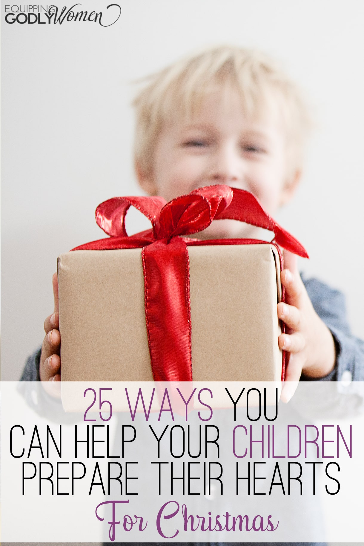 Love these suggestions for helping kids prepare for Christmas (or any holiday). This would make an adorable Christmas craft as well!