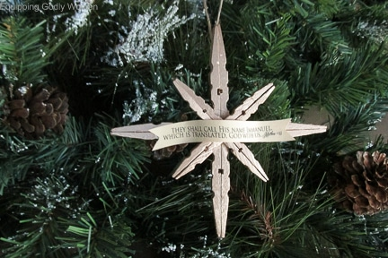 What A Beautiful Christian Christmas Craft For Kids Easy And Very Pretty