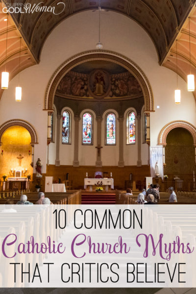 There are lots of misconceptions about the Catholic Church out there. Are you guilty of believing one of these 10 very common Catholic myths?