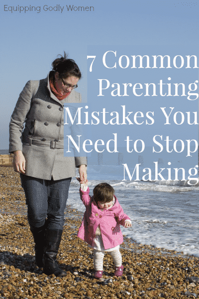 Great list of parenting mistakes! I have to admit, I'm guilty of a couple of these...