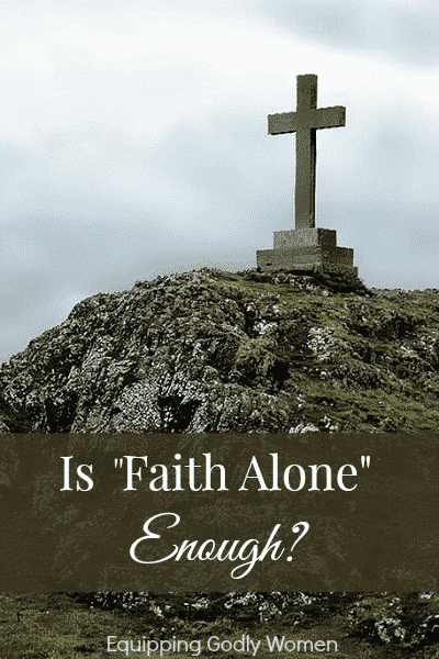 Is there any Biblical basis for the Faith Alone argument or is more needed? You might be surprised!