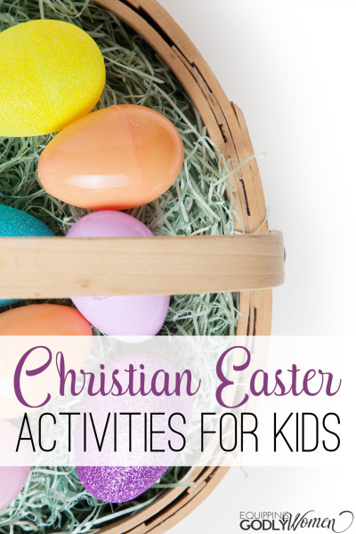 What a great list of Christian Easter activities for kids! I bet the kids would love these!