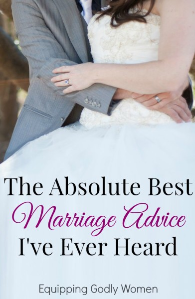There's a lot of great marriage advice out there, but this is one piece of advice you never hear--that you should!