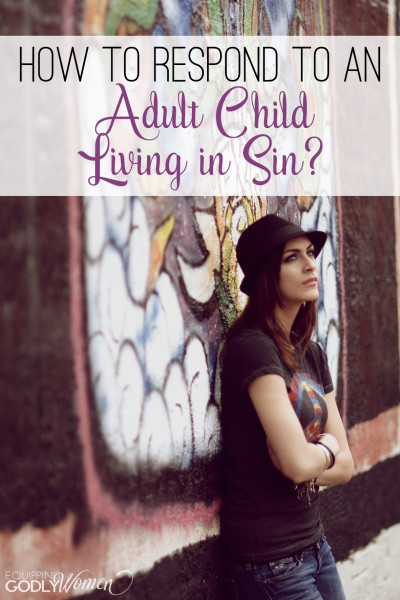 I was a little worried about what she was going to say, but this is actually really good advice for parents of kids living in sin... Hopefully I don't ever need it, but if I do... I hope this is what I will do.