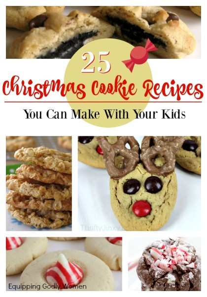 Yum! These are some awesome Christmas cookie recipes! Definitely saving these to make with my kids later!