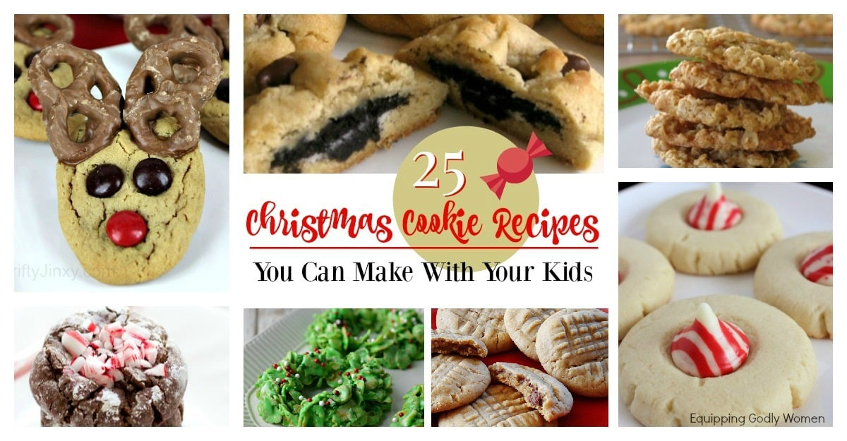 25 Christmas Cookie Recipes You Can Make With Your Kids