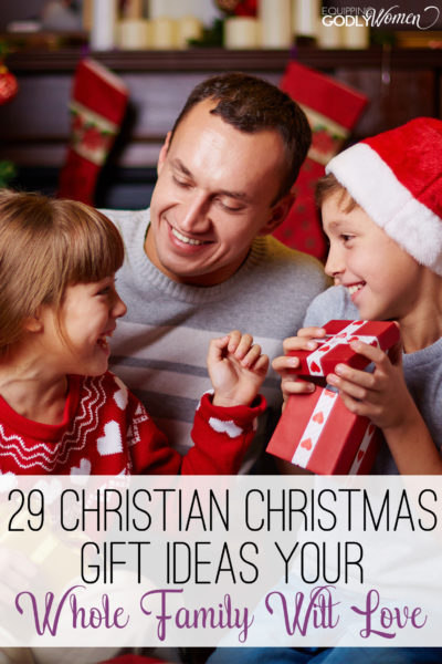 Great list of Christian Christmas Gift Ideas! Definitely saving these for later!