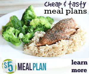 Try $5 Meal Plan Free Today!