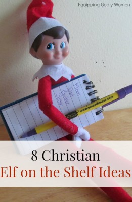 Love these Christian Elf on the Shelf ideas! What a great way to keep the focus where it belongs!