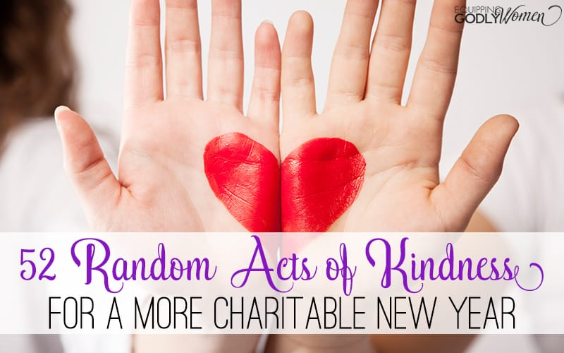 Want to make the world a better place? It all starts with a simple act of kindness. And here are 52 ideas to get you going!