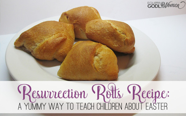 Resurrection Rolls Recipe - A yummy way to teach children about Easter.