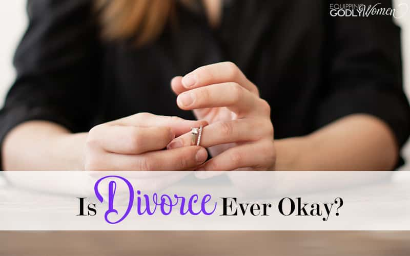 Yes, God hates divorce, but that's not the only thing He hates. In fact, there are times divorce may even be the loving Christian thing to do...