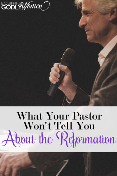 If you're a Christian, you're probably familiar with the Reformation. But unless you've really researched it, you probably only know half the story...