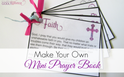 What a cute little printable book of prayers to pray over your children! This is so helpful! Definitely printing mine out now!