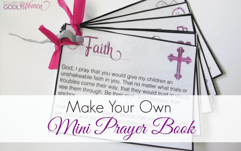 Make Your Own Mini Prayer Book