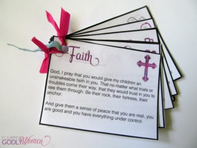 Printable Prayer Cards 3