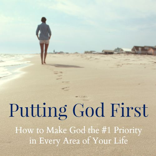 "Struggling to make God a priority? ""Putting God First: How to Make God the #1 Priority in Every Area of Your Life"" will help!"