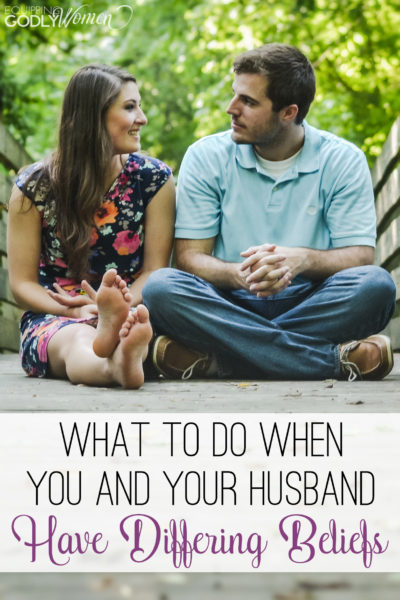 Okay, this advice on what to do when you and your spouse have different religious beliefs makes a lot of sense. I guess there's hope for us after all! lol