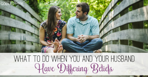 Just because you and your husband don't believe the same things doesn't mean your relationship is doomed to failure. Learn how to make the most of it here.