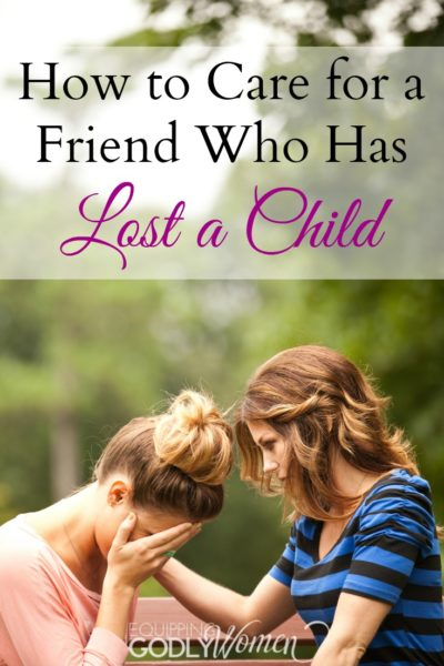 How to Care for a Friend Who Has Lost a Child