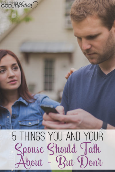 This is a great list of things for married couples to talk about! Definitely saving this list for the next time my husband and I have a chance to talk!
