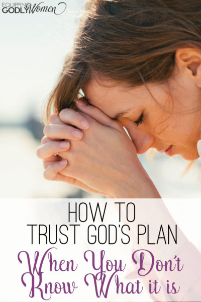 What an encouraging post on trusting God! I need to write these verses down!