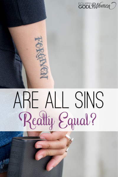 Are All Sins Equal in the Eyes of God? (What does the Bible say?)