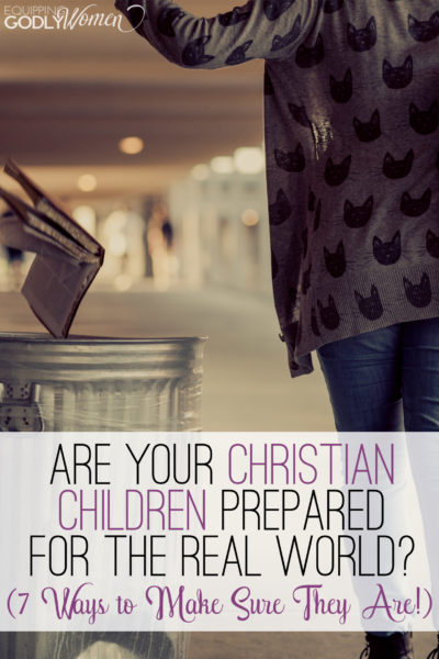 So glad I read this article about Christian kids in the real world. Looks like we have some stuff to work on.
