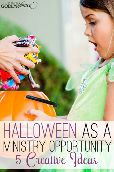 Great Christian Halloween Ideas! I could totally do these!
