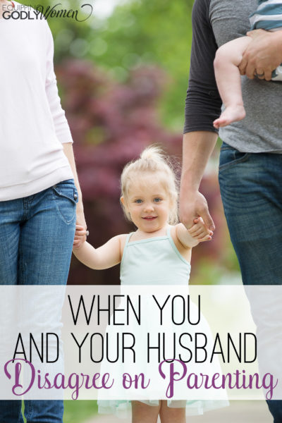 Such good advice for when you and your husband disagree on parenting! Saving so I definitely remember next time we get in a disagreement.