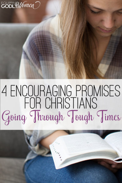 Such a great read for any Christian struggling with a tough time right now!