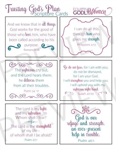 photo about Free Printable Scripture Verses named 6 Stress-free Bible Verses for Demanding Moments (+ Cost-free Printable!)
