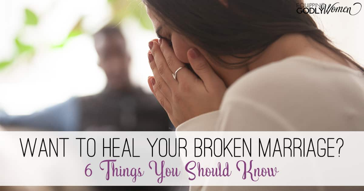 How to Fix a Broken Marriage God's Way (6 Steps for True Healing)