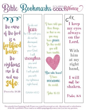 Bible Bookmarks small