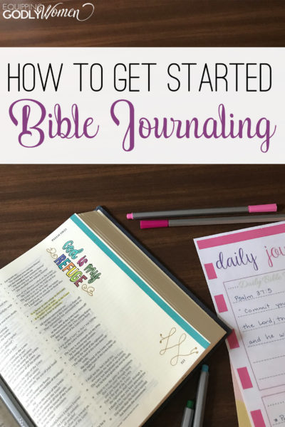 How to Get Started with Bible Journaling