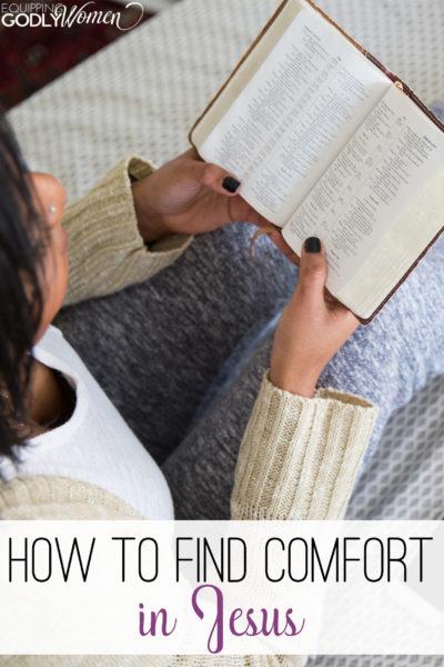 How to Find Comfort in Jesus