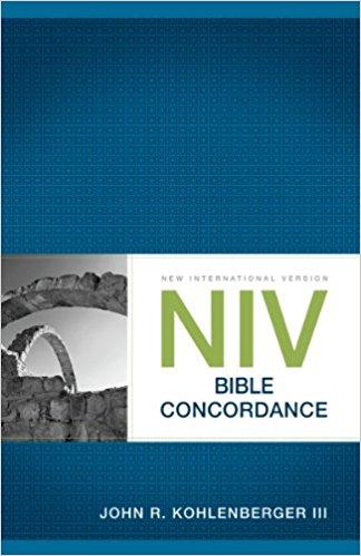 NIV Bible Concordance