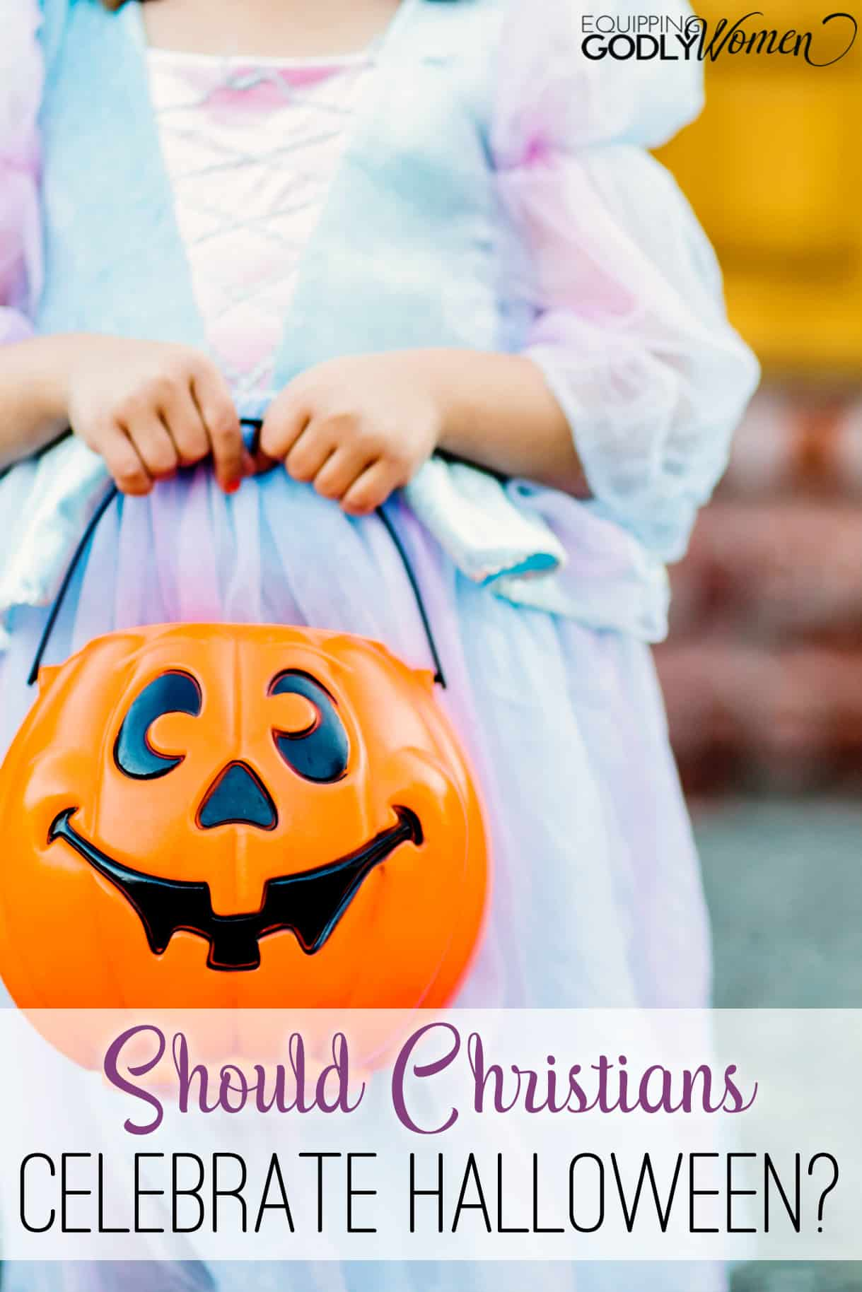 Should Christians participate in Halloween? This article has a balanced response.