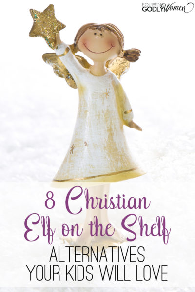 WOW! I had no idea that there were Christian alternatives Elf on the Shelf alternatives! I love all of these and especially #3! I can't wait to use these year.