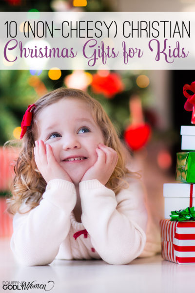 Love this list of Christian Christmas Gifts for Kids! Definitely saving this for later because I know my kids would LOVE these!
