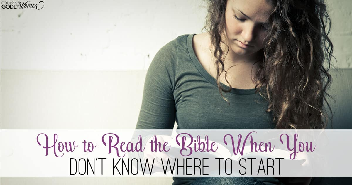 How to Read the Bible -- the Best Way for Beginners!