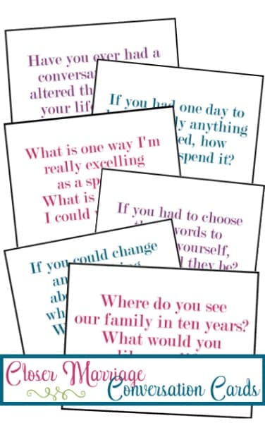 Conversation Cards Fanned Image