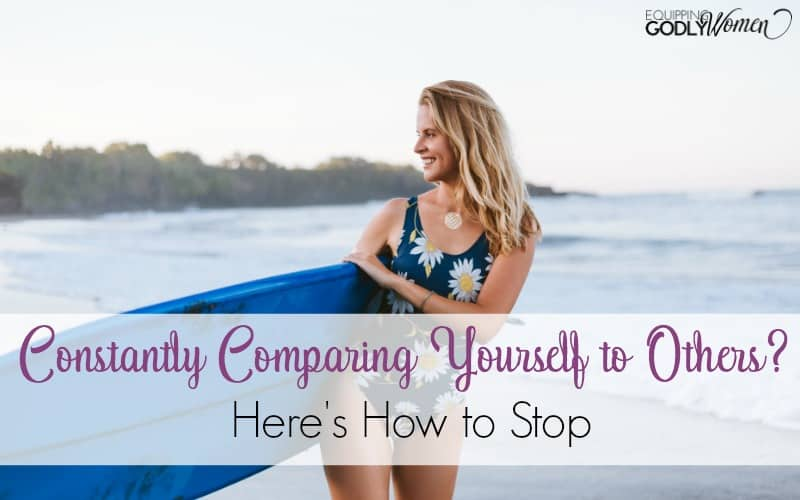 Constantly Comparing Yourself to Others? Here's How to Stop