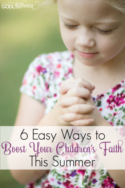 This article has great ideas on how we can help our kids grow in their faith!