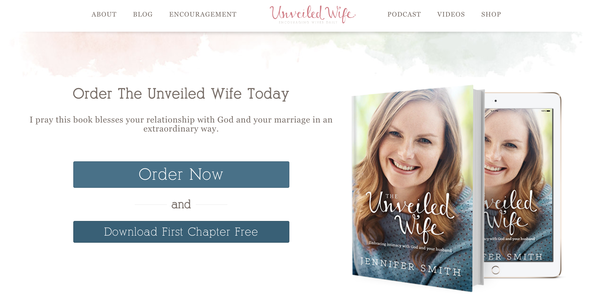 Unveiled Wife website screenshot