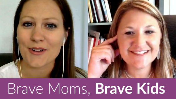 Want to raise brave kids that change the world? It starts with being a brave mom.