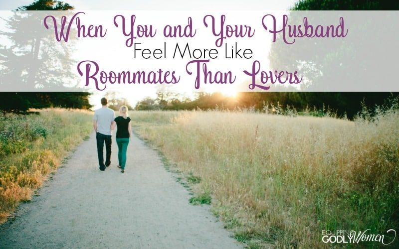 When You and Your Husband Feel More Like Roommates Than Lovers