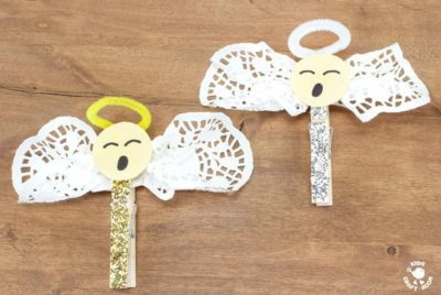 clothespin angels craft