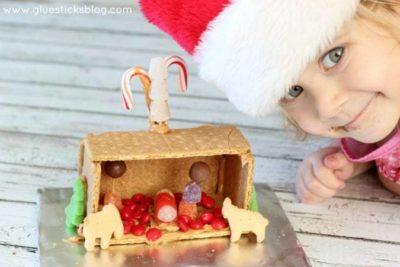 graham cracker nativity craft