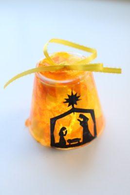 lighted nativity ornament craft